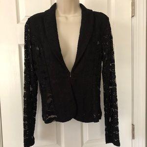 I.N.C lace blazer small